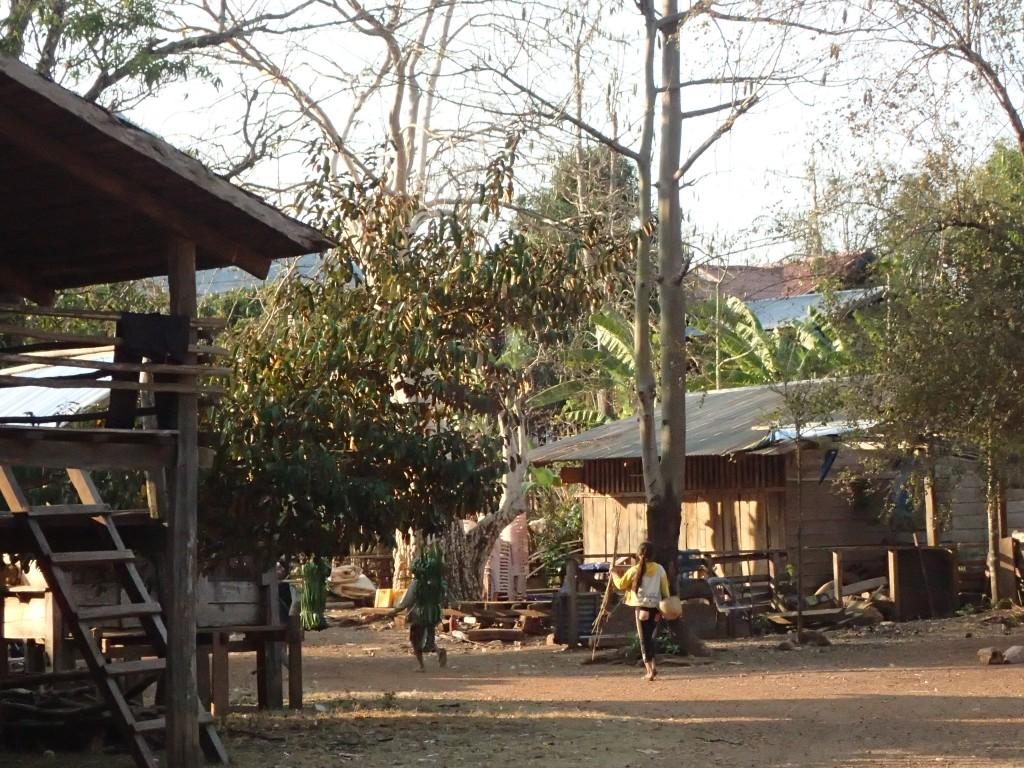 le village de Ban Vieng où nous vivrons quinze jours